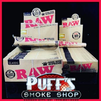 Puffs Smoke Shop Carson City, RAW Natural Rolling Papers