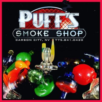 Puffs Smoke Shop Carson City, Custom Glass Carb Caps