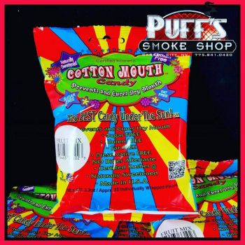 Puffs Smoke Shop Carson City, Cotton Mouth Candy