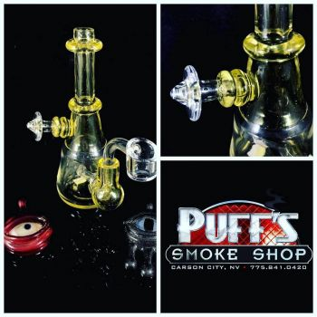 Puffs Smoke Shop Carson City, Glass with Magnetic Carb Cap