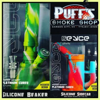 Puffs Smoke Shop Carson City, EYCE Silicone Pipes