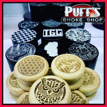Puffs Smoke Shop Carson City, Tahoe Grinder Company Grinders