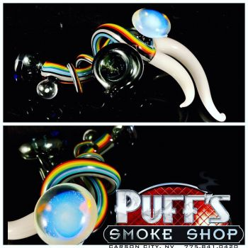 Puffs Smoke Shop Carson City, Custom Glass by Steve Cambria
