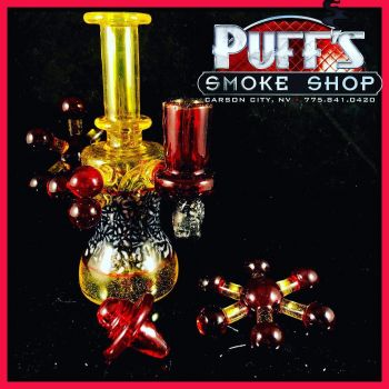 Puffs Smoke Shop Carson City, Rig Set by Sonny Anderson